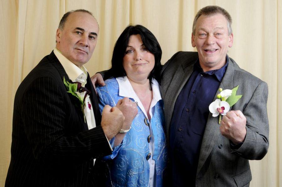 Mike, Maureen and Bob