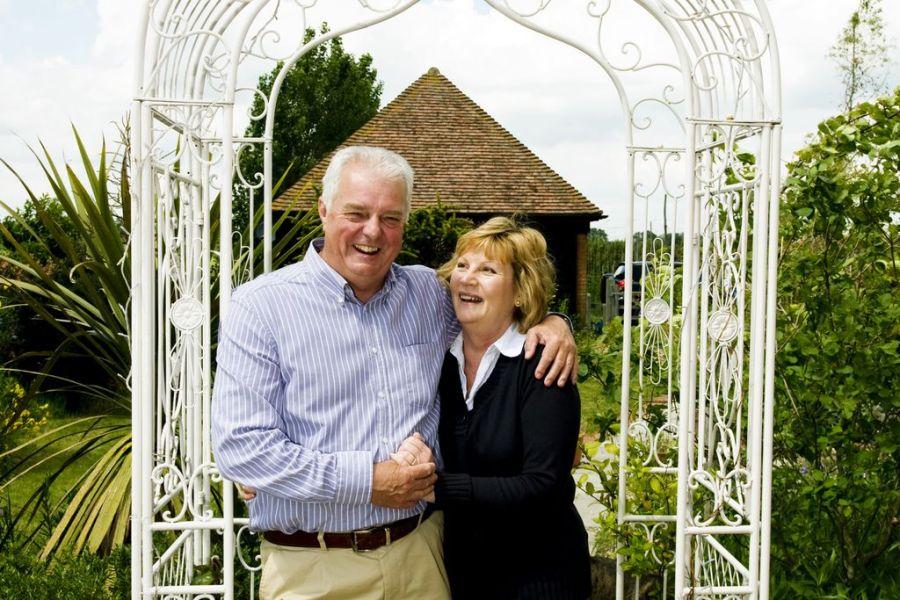 Linda and Bill