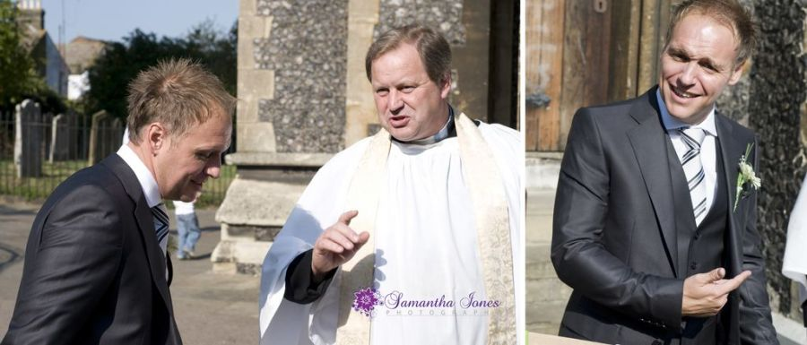 Gary and vicar