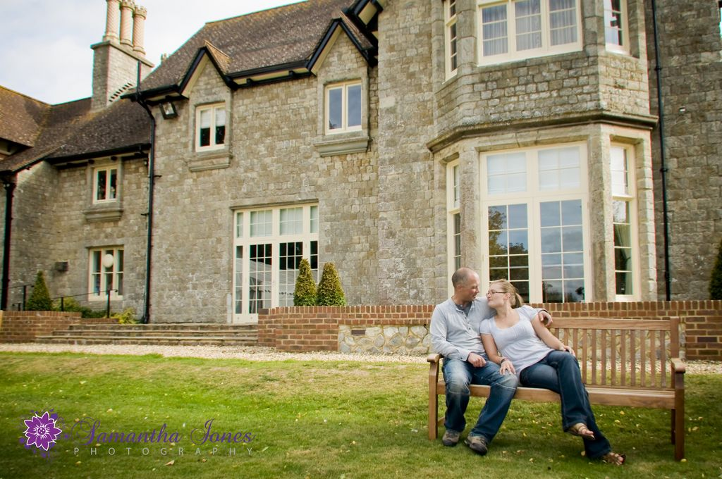 Rachel and Pete at The Old Rectory