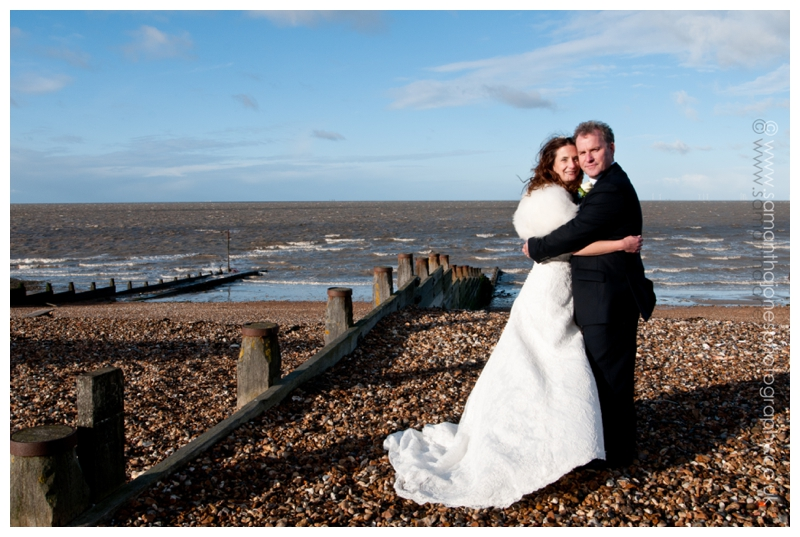 Heather and Andy married in Faversham by Samantha Jones Photography