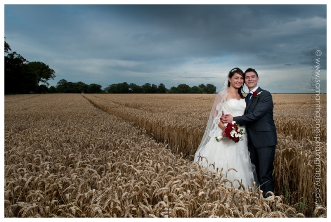 Natasha and Nick married at the Blazing Donkey by Samantha Jones Photography