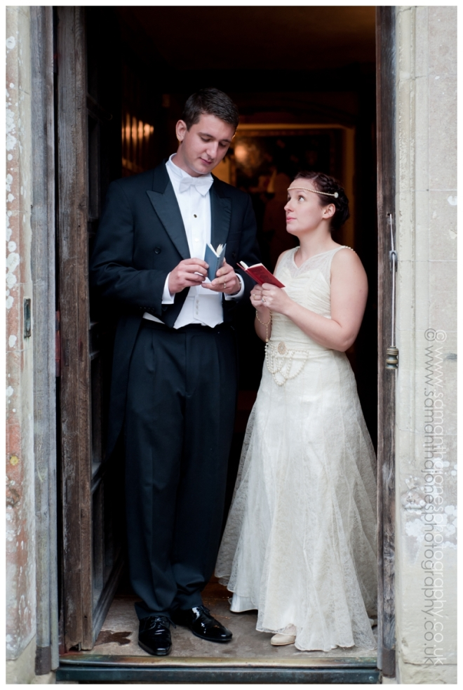 Frances and Phil married at Lympne Castle by Samantha Jones Photography