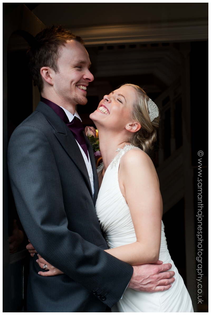 Emma and Luke married at Rowhill Grange by Samantha Jones Photography