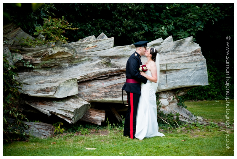 Charly and Mark married at Quex Park by Samantha Jones Photography