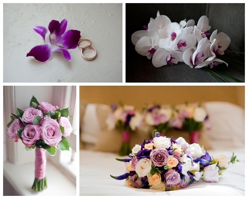 Beautiful wedding bouquets photography by Samantha Jones Photography