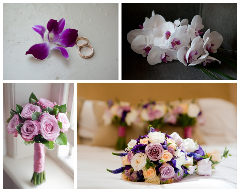 Beautiful wedding bouquets photography by Samantha Jones Photography
