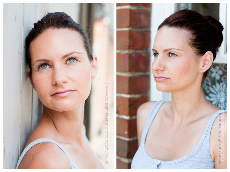 Photoshoot with Emily Rose Makeup for Holistic Therapy Magazine