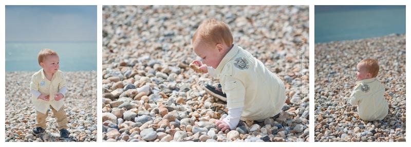 Family photoshoot on the beach at Folkestone by Samantha Jones Photography