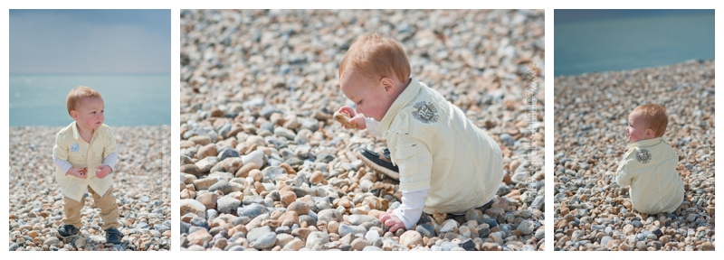 Family photoshoot on the beach at Folkestone by Samantha Jones Photography