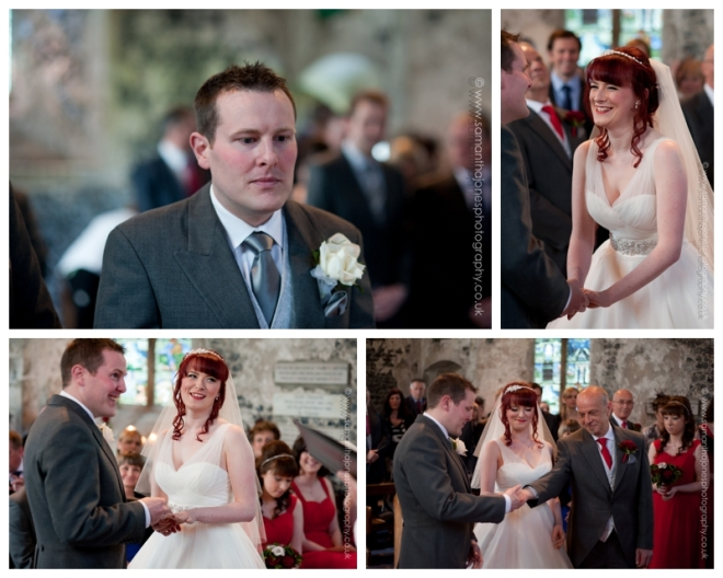 Charlotte and Daniel at Salmestone Grange by Samantha Jones Photography