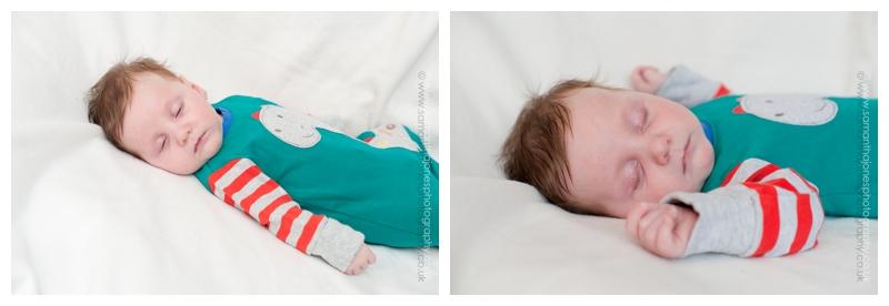 Sleeping child by Samantha Jones Photography