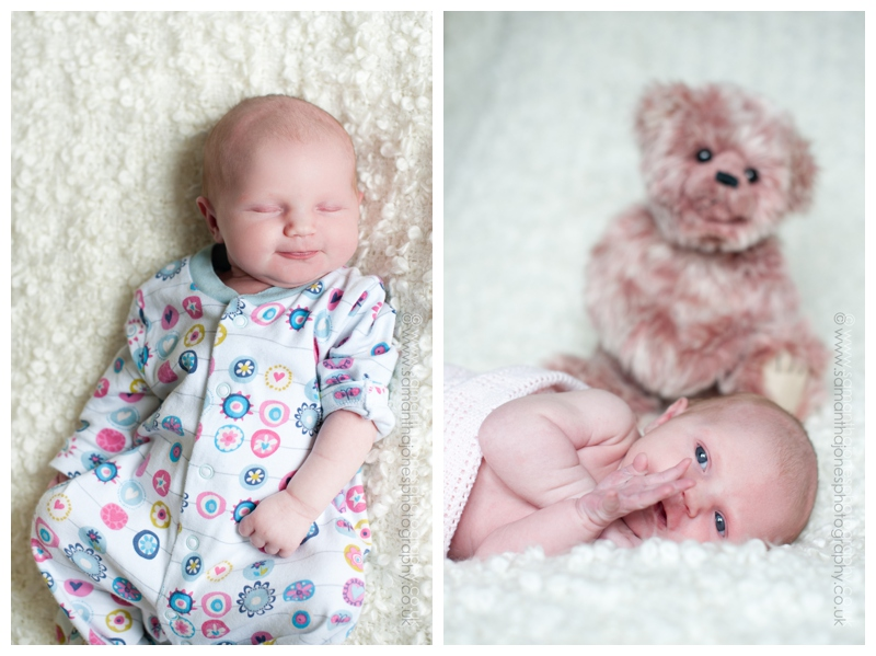 Baby Aoife's second photoshoot