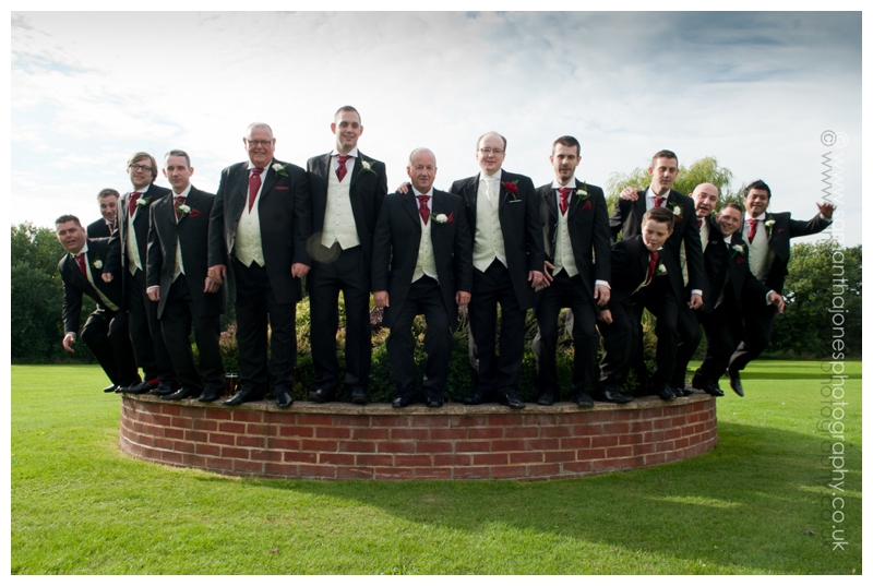 Bickley Manor wedding photography Tracey and Andy