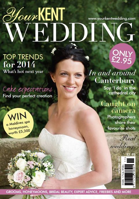 front page Your Kent Wedding Samantha Jones Photography
