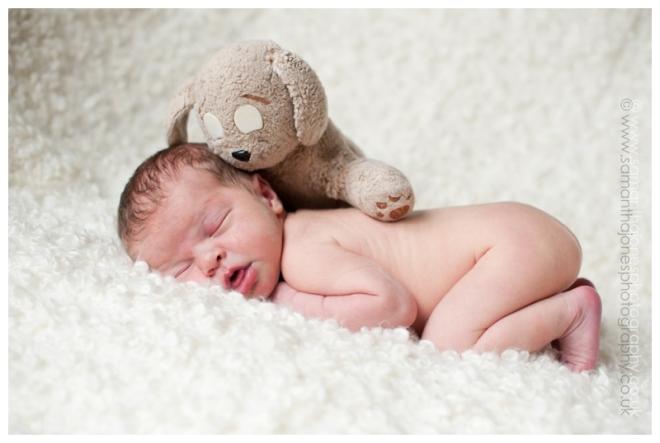 Newborn baby photography in Kent