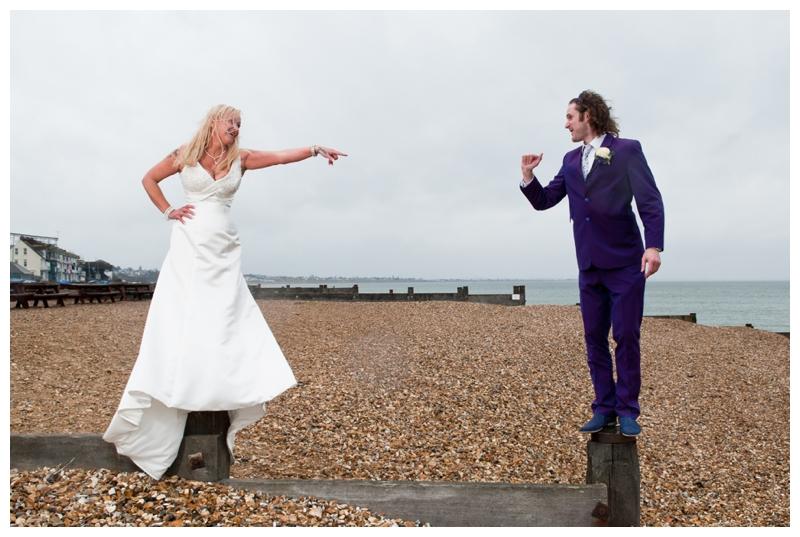 Penelope and Jonathan Whitstable wedding by Samantha Jones Photography