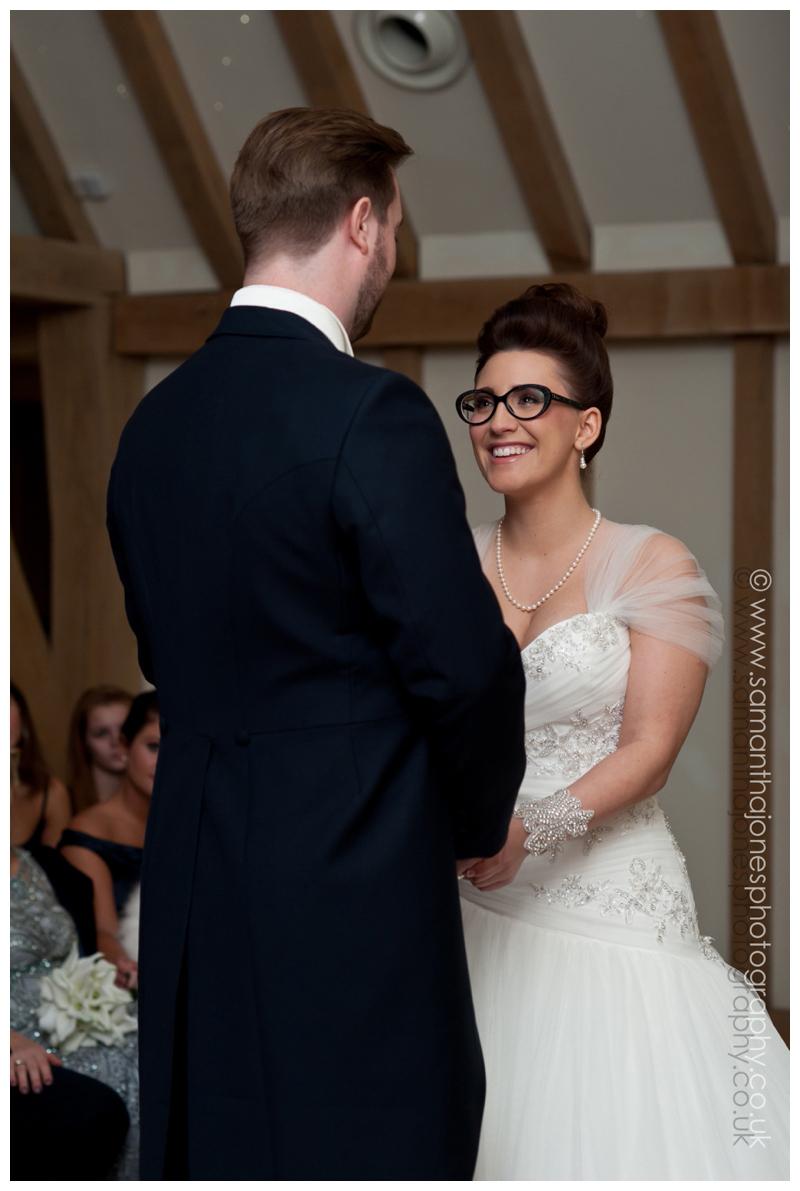 Jemma and Rob wedding at The Old Kent Barn 1