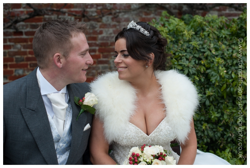 Sarah and Sam wedding at Hadlow Manor by Samantha Jones Photography 3