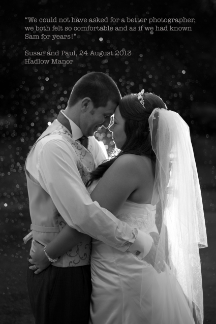 Susan and Paul, Hadlow Manor