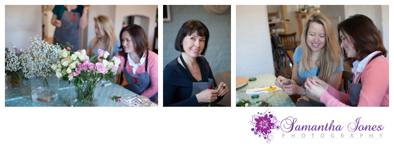 Julie Davies flower workshops in Faversham photographed by Samantha Jones Photography 3