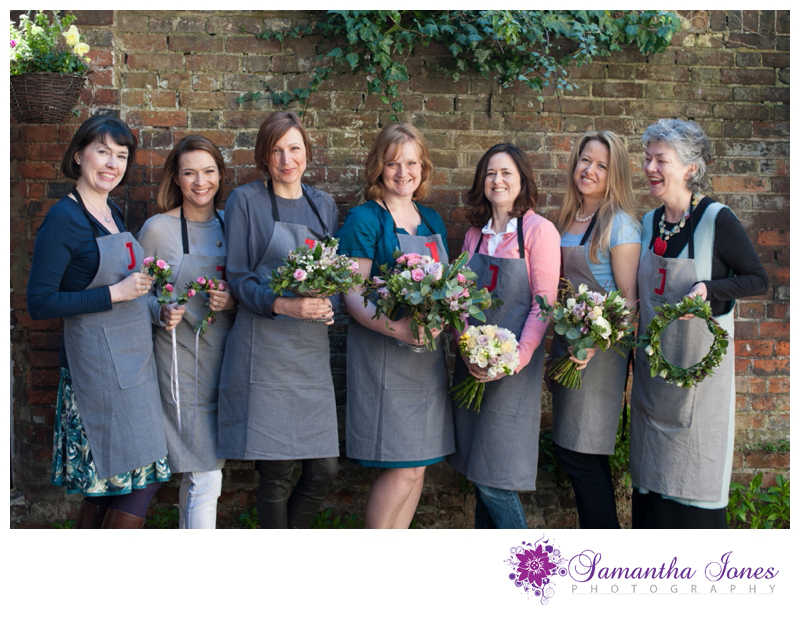 Julie Davies flower workshops in Faversham photographed by Samantha Jones Photography 7