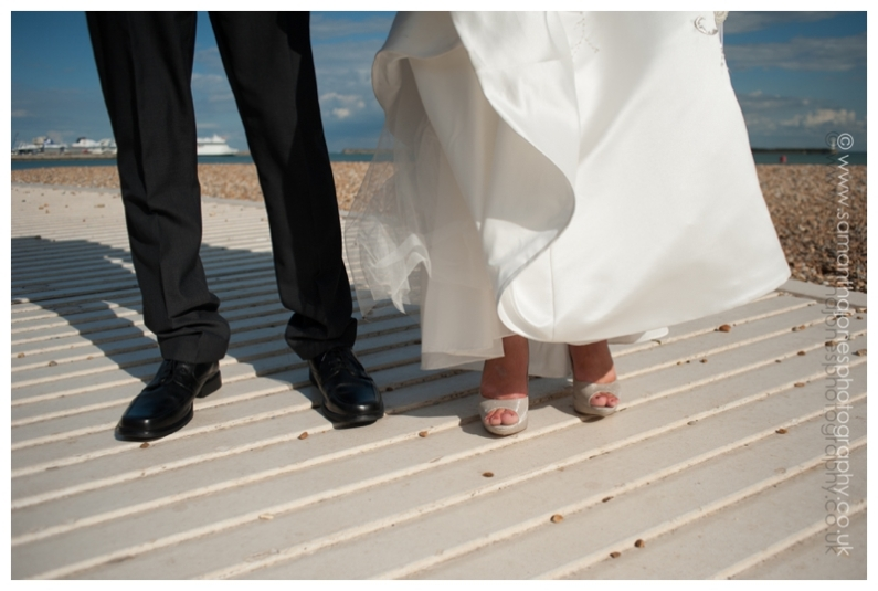 A seaside wedding by Samantha Jones Photography
