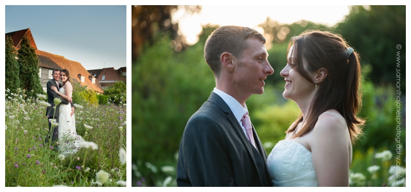 Kirsty and Robin garden portraits by Samantha Jones Photography