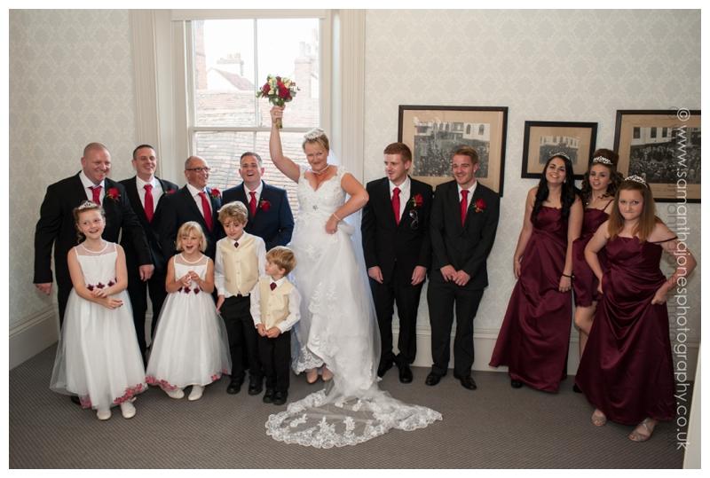 Sarah-Jane and Chris wedding at the Alexander Centre by Samantha Jones Photography 2