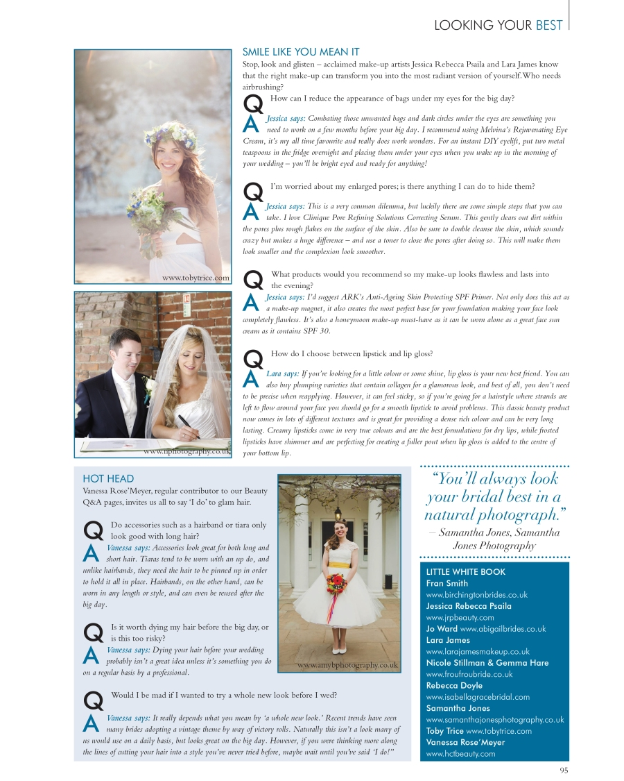 Your Kent Wedding article on looking your best 1