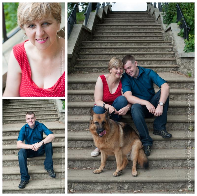 Teresa and Allan pre-wedding photoshoot at Mote Park