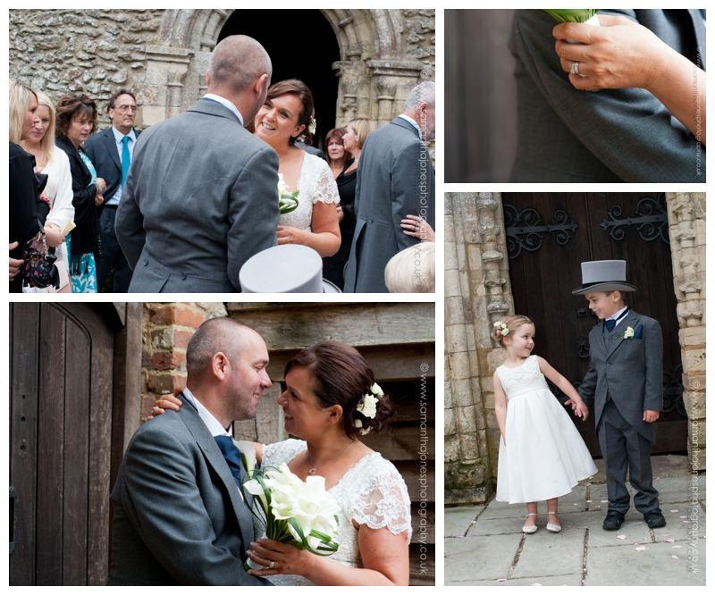 Karen and Carl at Newlands Chapel wedding 06