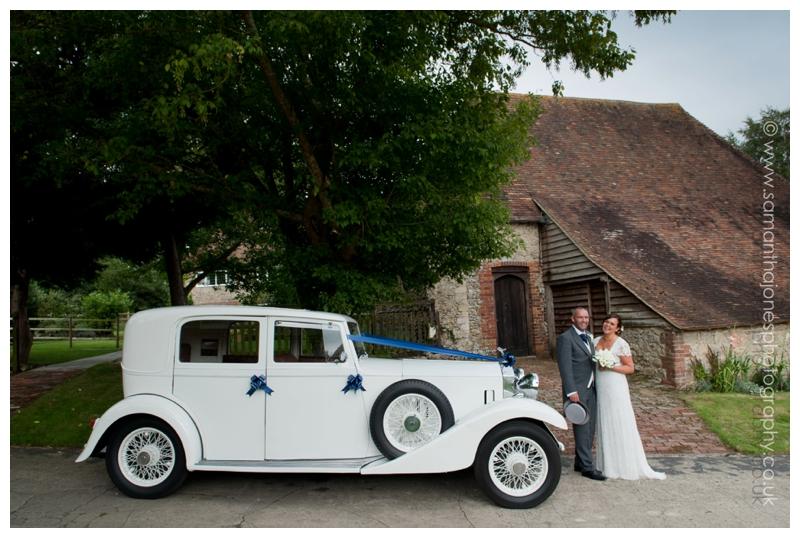 Karen and Carl at Newlands Chapel wedding 09