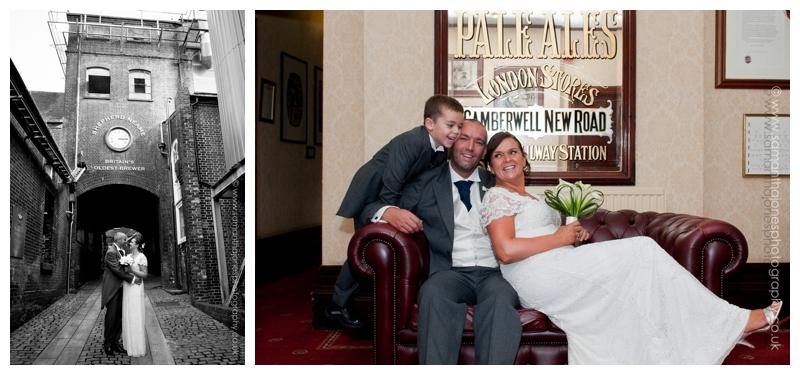 Karen and Carl at Newlands Chapel wedding 11