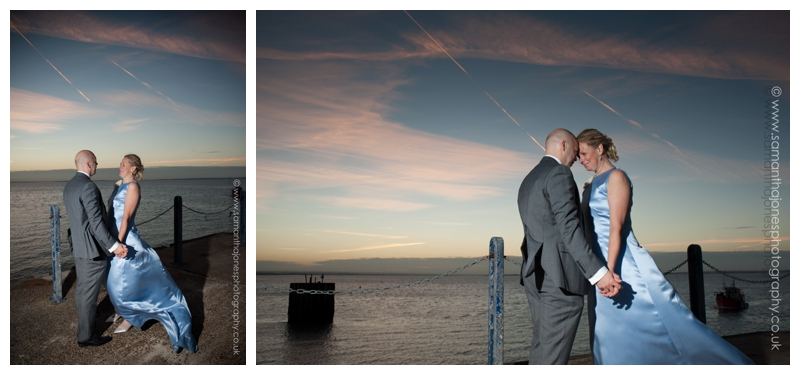 Jill and Kevin at East Quay wedding in Whitstable by Samantha Jones Photography 03