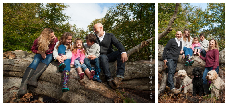 The Steward family photoshoot at Perry Woods 01