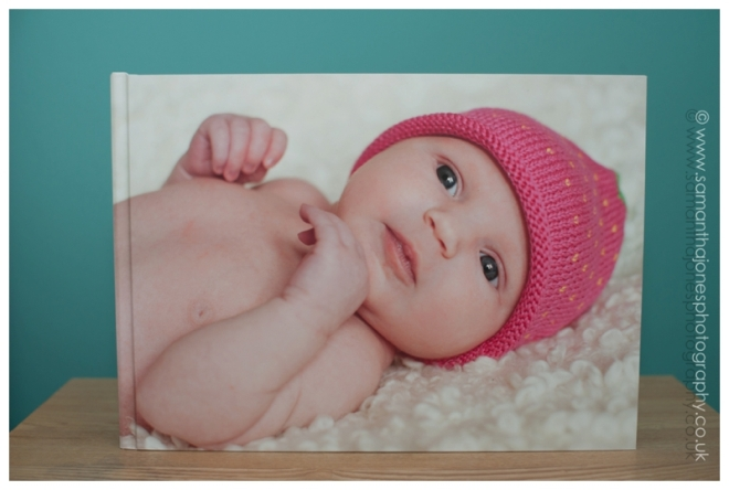 Aoife newborn to one year album package by Samantha Jones Photography 01