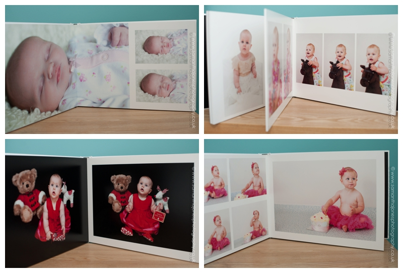 Aoife newborn to one year album package by Samantha Jones Photography 02
