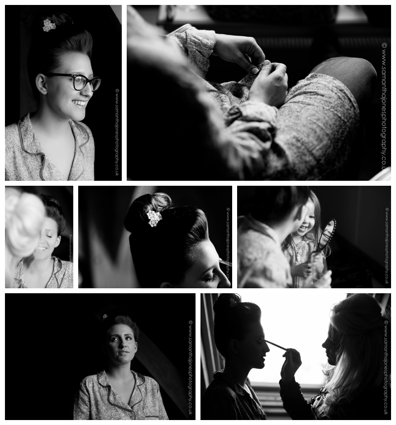 Jemma and Rob winter wedding at The Old Kent Barn by Samantha Jones Photography 011