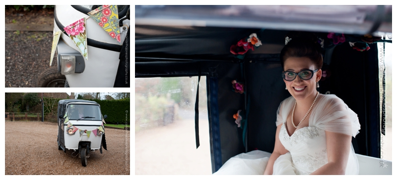Jemma and Rob winter wedding at The Old Kent Barn by Samantha Jones Photography 16