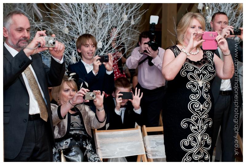 Jemma and Rob winter wedding at The Old Kent Barn by Samantha Jones Photography 22