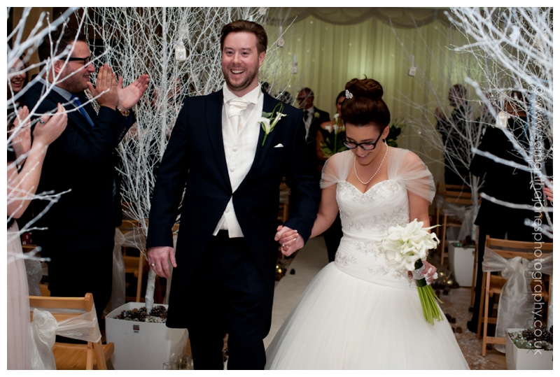 Jemma and Rob winter wedding at The Old Kent Barn by Samantha Jones Photography 25