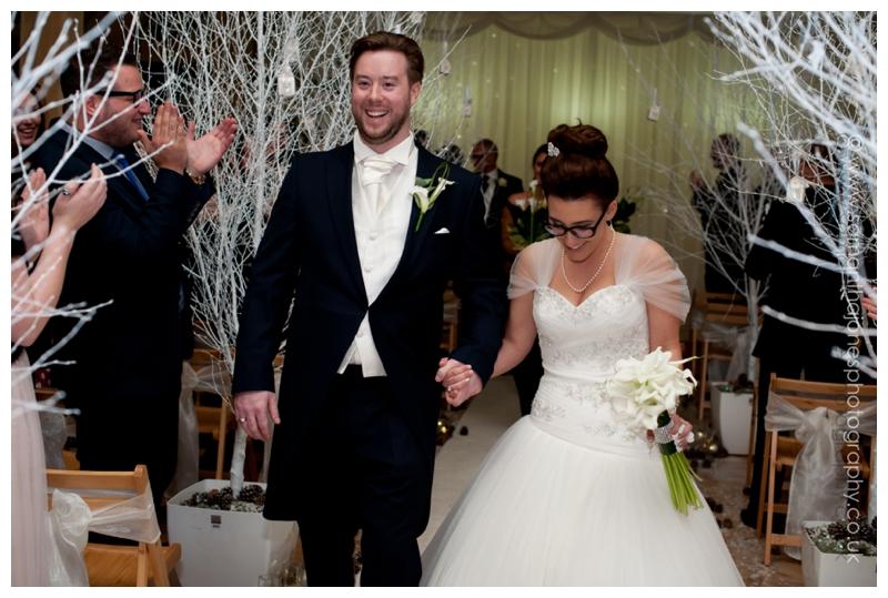 Jemma and Rob winter wedding at The Old Kent Barn by Samantha Jones Photography 25