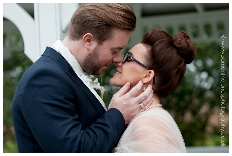 Jemma and Rob winter wedding at The Old Kent Barn by Samantha Jones Photography 26