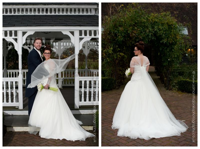 Jemma and Rob winter wedding at The Old Kent Barn by Samantha Jones Photography 27