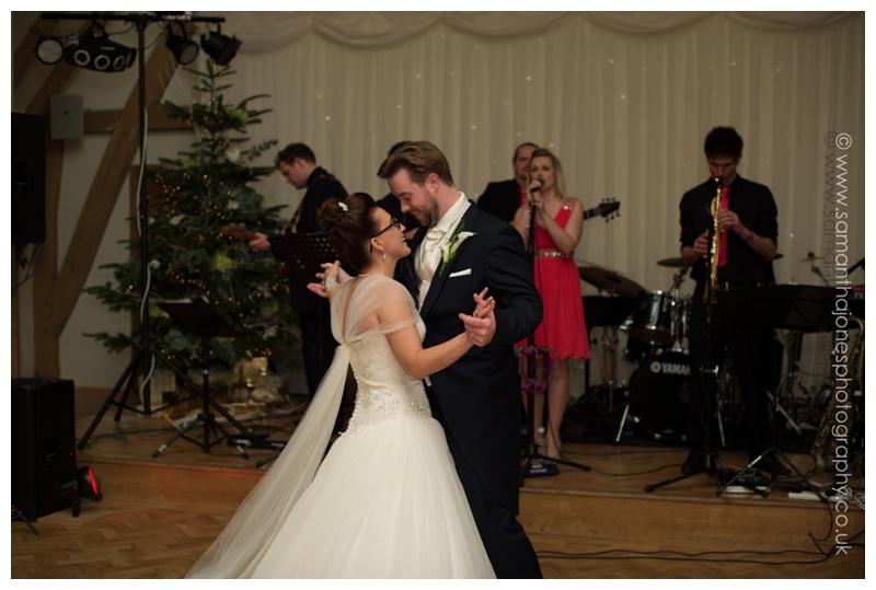 Jemma and Rob wedding at The Old Kent Barn 13