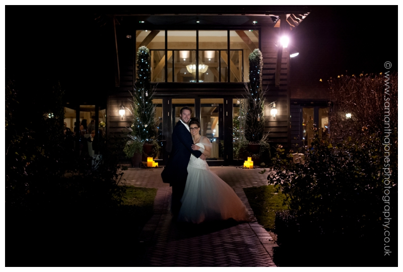 Jemma and Rob wedding at The Old Kent Barn 19
