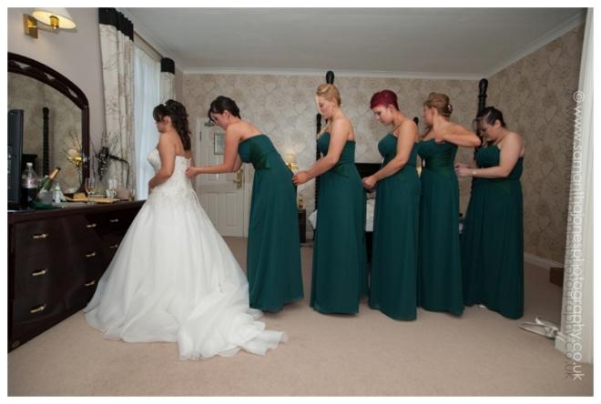 Sarah and Sam wedding at Hadlow Manor by Samantha Jones Photography 07