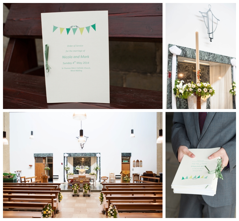 Nicola and Mark wedding at West Malling Church and Hadlow Manor by Samantha Jones Photography 01