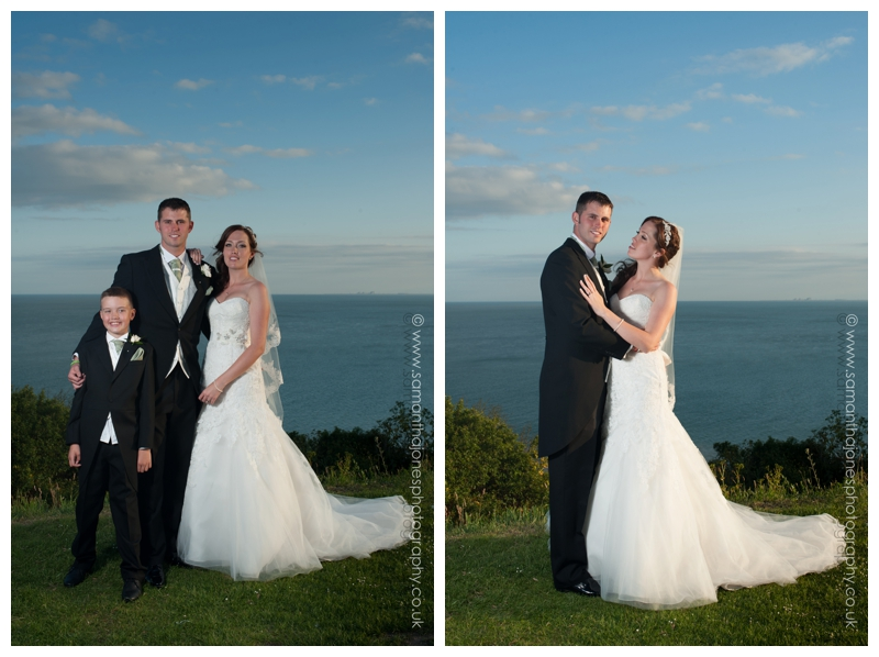 Lynsey and Neil wedding photography at The Grand in Folkestone by Samantha Jones Photography 30
